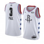 Maillot All Star 2019 Houston Rockets Chris Paul #3 Blanc