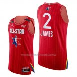 Maillot All Star 2020 Western Conference Lebron James #2 Rouge