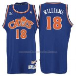 Maillot Cleveland Cavaliers Mo Williams #18 Retro 2008 Bleu
