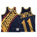 Maillot Golden State Warriors Klay Thompson #11 Mitchell & Ness Big Face Bleu