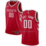 Maillot Houston Rockets Personnalise 17-18 Rouge