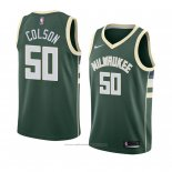 Maillot Milwaukee Bucks Bonzie Colson #50 Icon 2018 Vert