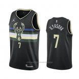 Maillot Milwaukee Bucks Ersan Ilyasova #7 Statement 2020-21 Noir