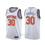Maillot New York Knicks Julius Randle #30 Association Blanc
