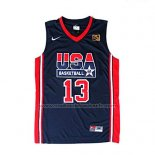 Maillot USA 1992 Chris Mullin #13 Noir