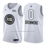 Maillot All Star 2018 Detroit Pistons Andre Drummond #0 Blanc