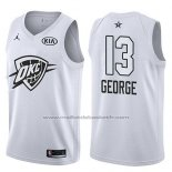 Maillot All Star 2018 Oklahoma City Thunder Paul George #13 Blanc