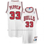 Maillot Chicago Bulls Scottie Pippen #33 Retro Blanc