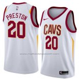 Maillot Cleveland Cavaliers Billy Preston #20 Association 2018 Blanc