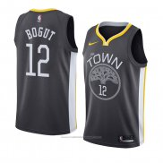 Maillot Golden State Warriors Andrew Bogut #12 Statement 2018 Noir