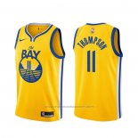 Maillot Golden State Warriors Klay Thompson #11 Statement 2019-20 Or