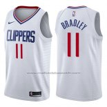 Maillot Los Angeles Clippers Avery Bradley #11 Association 2017-18 Blanc