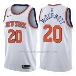 Maillot New York Knicks Doug McDermott #20 Association 2017-18 Blanc
