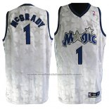 Maillot Orlando Magic Tracy McGrady #1 Retro Blanc2