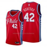 Maillot Philadelphia 76ers Al Horford #42 Statement Edition Rouge