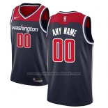 Maillot Washington Wizards Personnalise 17-18 Bleu