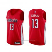 Maillot Washington Wizards Thomas Bryant #13 Earned Rouge