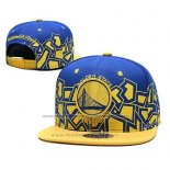 Casquette Golden State Warriors Bleu Jaune