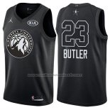 Maillot All Star 2018 Minnesota Timberwolves Jimmy Butler #23 Noir