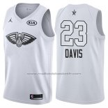 Maillot All Star 2018 New Orleans Pelicans Anthony Davis #23 Blanc