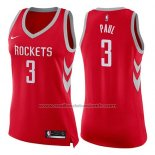 Maillot Femme Houston Rockets Chris Paul #3 Icon 2017-18 Rouge