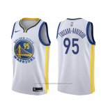 Maillot Golden State Warriors Juan Toscano-Anderson #95 Association Blanc