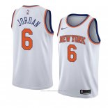 Maillot New York Knicks Deandre Jordan #6 Statement 2018 Blanc