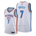 Maillot Oklahoma City Thunder Darius Bazley #7 Association Blanc