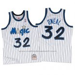Maillot Orlando Magic Shaquille O'Neal #32 Retro Blanc