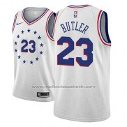Maillot Philadelphia 76ers Jimmy Butler #23 Earned 2018-19 Gris