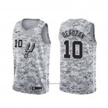 Maillot San Antonio Spurs Demar Derozan #10 Earned Camouflage