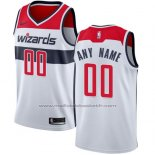 Maillot Washington Wizards Personnalise 17-18 Blanc