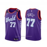 Maillot 2020 Rising Star Luka Doncic #77 World Volet