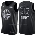 Maillot All Star 2018 Golden State Warriors Kevin Durant #35 Noir