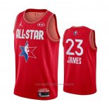 Maillot All Star 2020 Los Angeles Lakers LeBron James #23 Rouge