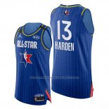 Maillot All Star 2020 Western Conference James Harden #13 Bleu