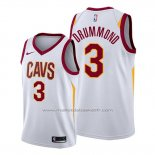 Maillot Cleveland Cavaliers Andre Drummond #3 Association 2019-20 Blanc