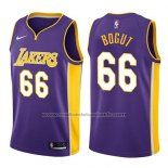 Maillot Los Angeles Lakers Andrew Bogut #66 Statement 2017-18 Volet