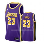 Maillot Los Angeles Lakers Anthony Davis #23 Statement 2019-20 Volet