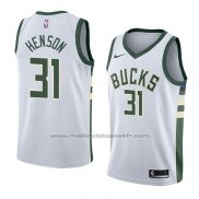 Maillot Milwaukee Bucks John Henson #31 Association 2018 Blanc