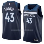 Maillot Minnesota Timberwolves Anthony Tolliver #43 Icon 2018 Bleu