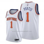 Maillot New York Knicks Bobby Portis #1 Association Blanc