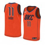 Maillot Oklahoma City Thunder Abdel Nader #11 Earned 2018-19 Orange