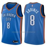 Maillot Oklahoma City Thunder Alex Abrines #8 Swingman Icon 2017-18 Bleu