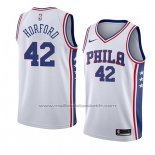 Maillot Philadelphia 76ers Al Horford #42 Association 2019-20 Blanc