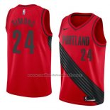 Maillot Portland Trail Blazers Anfernee Simons #24 Statement 2018 Rouge