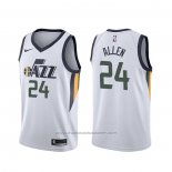 Maillot Utah Jazz Grayson Allen #24 Association Blanc