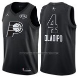 Maillot All Star 2018 Indiana Pacers Victor Oladipo #4 Noir
