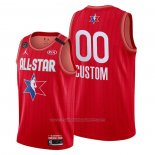 Maillot All Star 2020 Personnalise Rouge