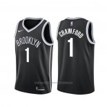 Maillot Brooklyn Nets Jamal Crawford #1 Icon Noir